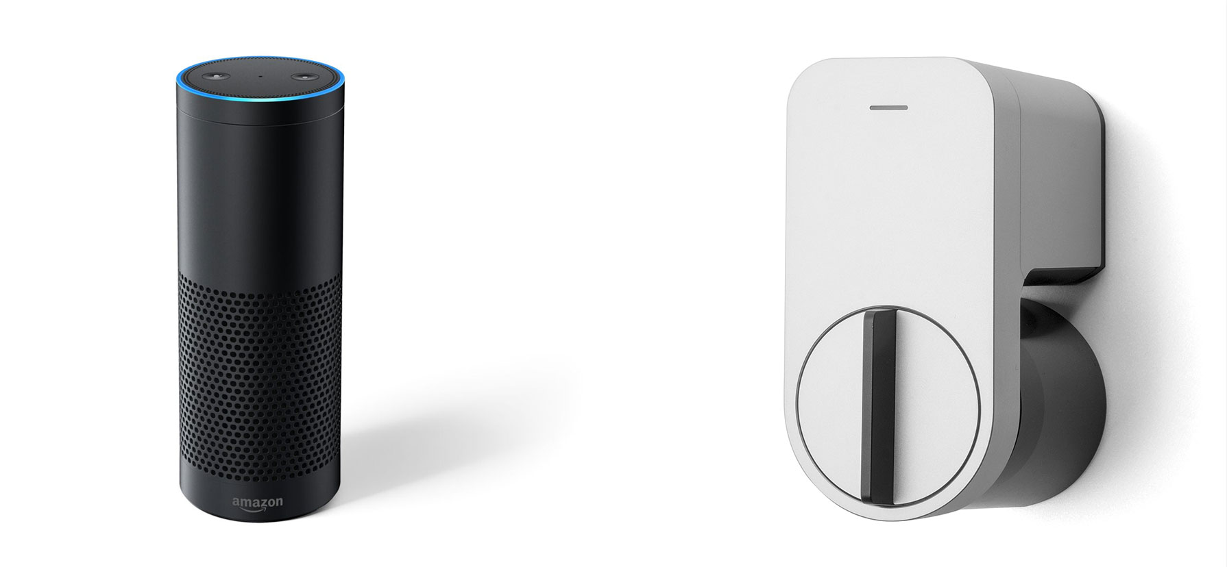 alexa and Qrio Smart Lock